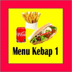 Menu Kebab 1 Pollo