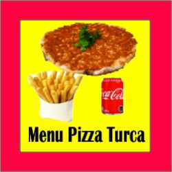 Menu Pizza Turca Pollo