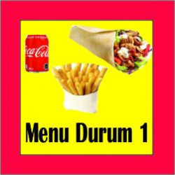 Menu Durum Ternera +/- 25 cm