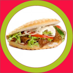Kebab Doble Pollo